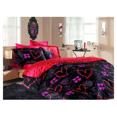 Двуспальное постельное белье LOVE / артикул: 500-03
