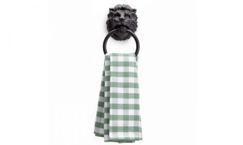 Держатель для полотенца Лев