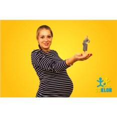 3D-фигурка беременной. Масштаб 1:12