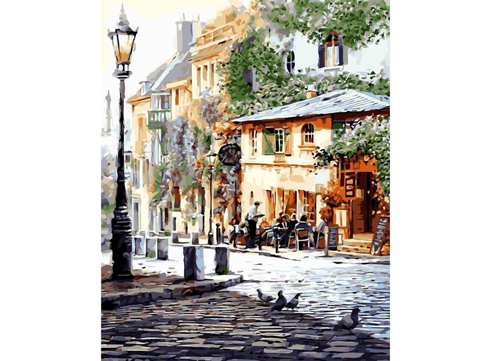 Картины по номерам «Полуденное кафе»