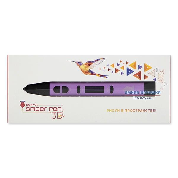 Нежно-сиреневая 3D ручка Spider Pen Pro