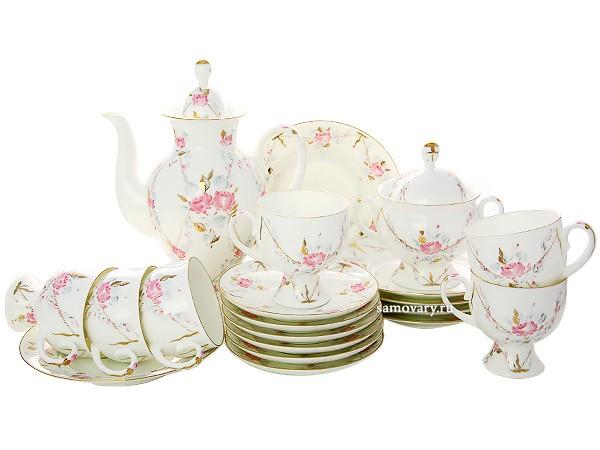 Императорский чайный сервиз, с рисунком Галантный