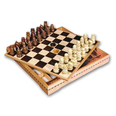 Шахматы + шашки : «Средневековье»