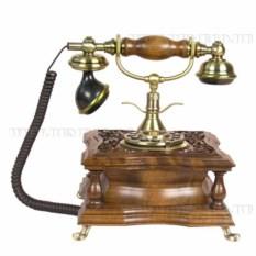 Декоративный телефон (цвет — светло-коричневый)