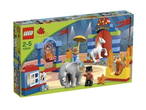 Конструктор LEGO Дупло Большой цирк