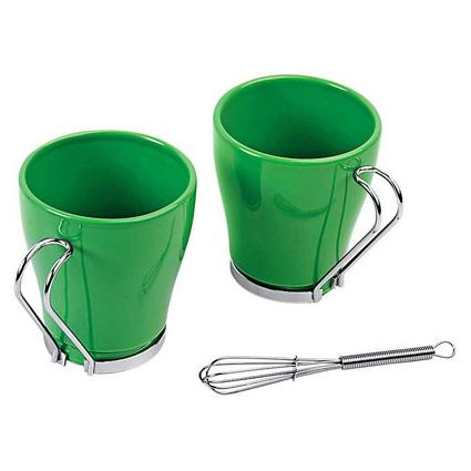 Чайный комплект, зеленый
