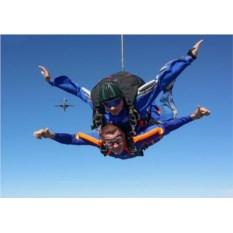 Сертификат Прыжок с парашютом в тандеме с фото/видео