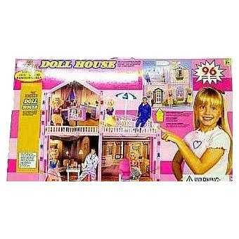 Кукольный дом с мебелью Дрим хаус