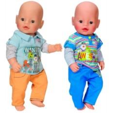 Одежда для куклы-мальчика BABY born