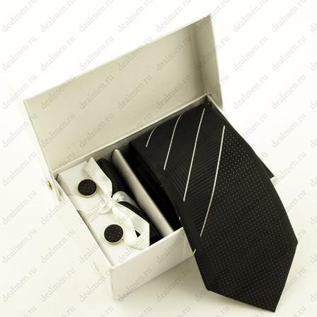 Галстук ARMANI в подарочной упаковке