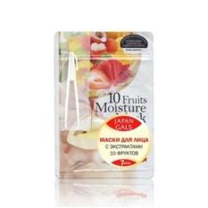 Маска с экстрактами 10 фруктов Pure5 Essential Japan Gals