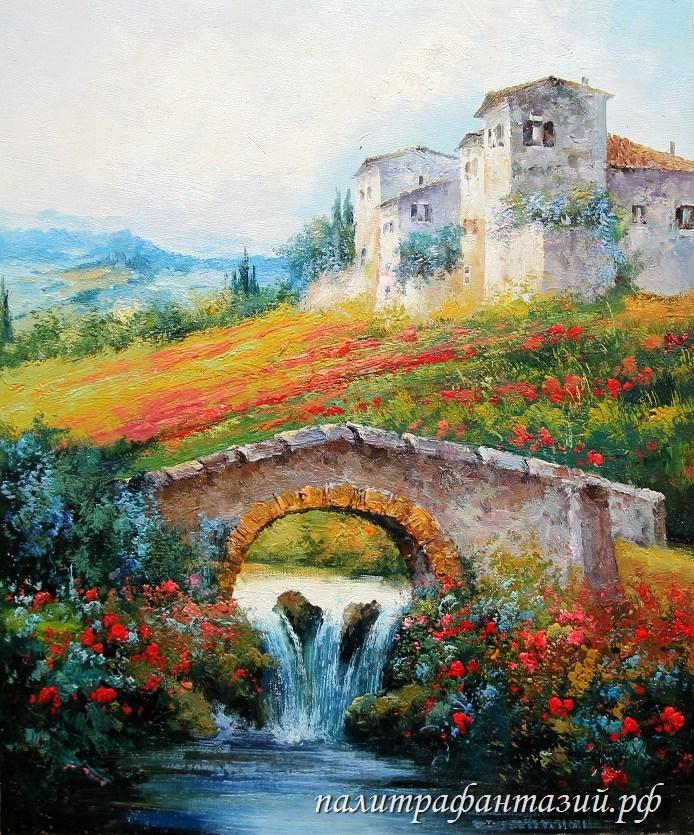 Картина Лето в Провансе