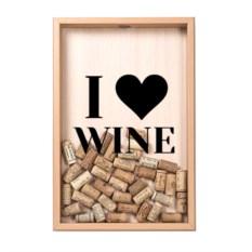 Копилка для винных пробок Love vine