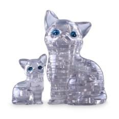 3D головоломка Серебристая кошка