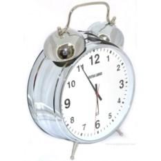 Часы-будильник Серебряный супергигант