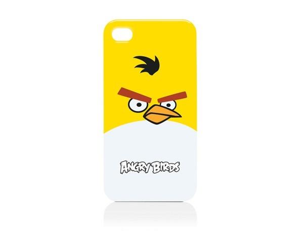 Чехол Gear4 Angry Birds ICAB402 Bird для iPhone 4G, Yellow