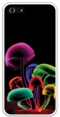 Чехол-накладка для iphone 5/5S, грибы