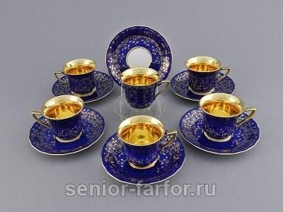Набор высоких чашек 0,10 л (6 шт) Leander 56173