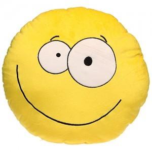 Декоративная подушка «Смайлик»