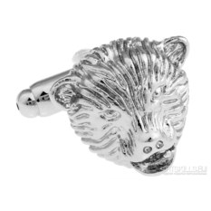 Запонки «Голова Медведя» в именной коробке с гравировкой