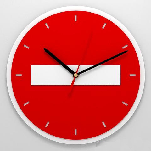 Часы «Въезд запрещен»