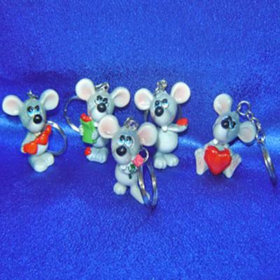 Брелок-мышка