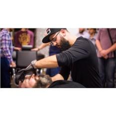 Мужская стрижка + моделирование бороды