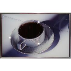Картина с кристаллами Сваровски Чашка кофе