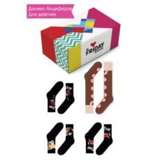Набор дизайнерских носков для девочек Даниил Анциферов