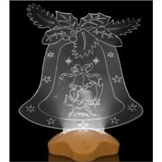 Фигурка с подсветкой Колокольчик