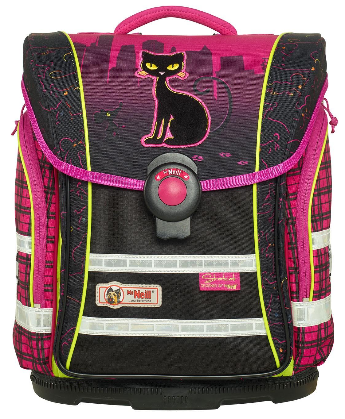Школьный рюкзак MC Neill ERGO Light COMPACT Уличный кот