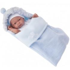 Кукла-младенец Карлос в голубом конверте