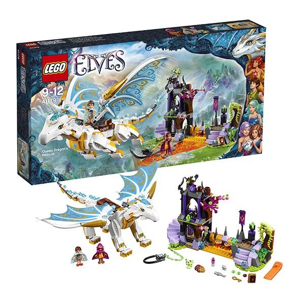 Конструктор Lego Elves Спасение Королевы Драконов