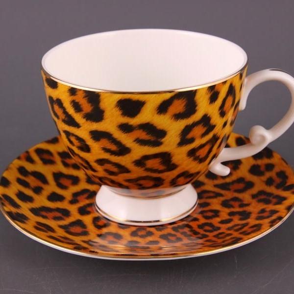 Чайный набор на 6 персон Леопардовый