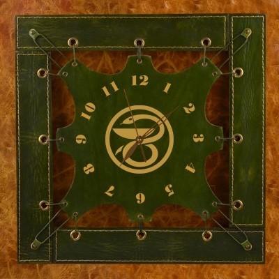 Часы из кожи Чаша со змеей