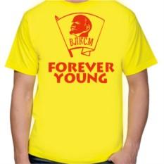 Футболка с надписью Forever young
