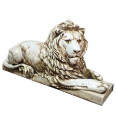 Декоративная фигурка Лев (цвет - антика)
