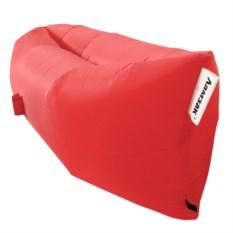 Надувной диван Ламзак красного цвета
