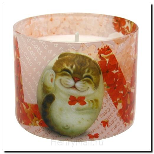 Ароматизированная свеча в упаковке «Любовь»