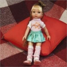 Кукла Адель в юбке