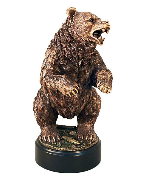 Статуэтка «Разъярённый медведь»