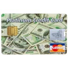 Флешка «Платиновая кредитка» 8 Гб