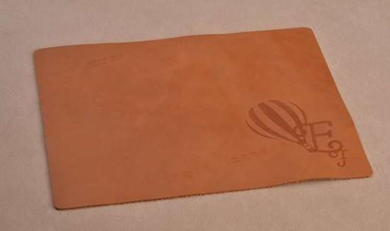 Коврик для мышки Efirum (коричневый; нат. кожа)