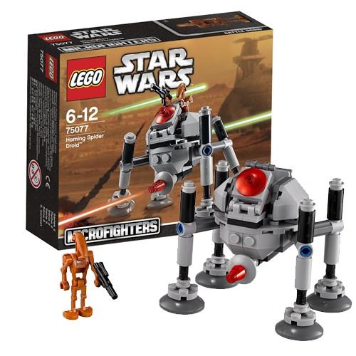 Конструктор Lego Star Wars Самонаводящийся дроид-паук