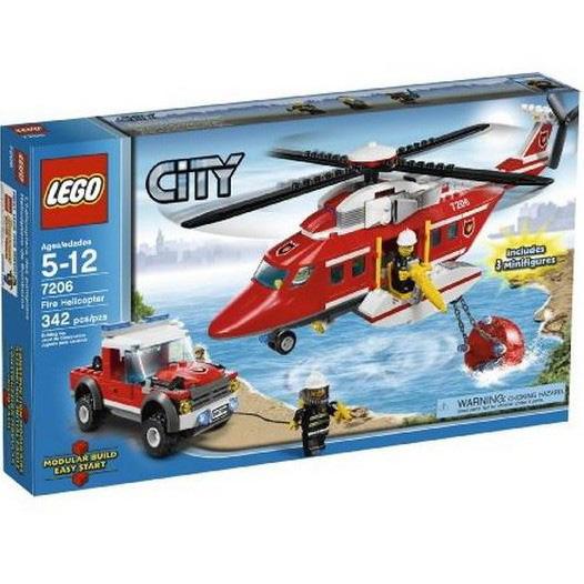 Lego City «Пожарный вертолёт»