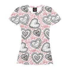 Женская футболка Влюбленность