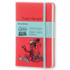 Красная нелинованная записная книжка Moleskine Toy story