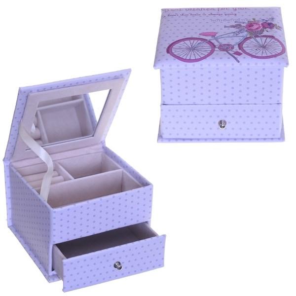 Шкатулка для украшений Велосипед