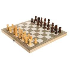 Настольная игра 3 в 1: нарды, шахматы, шашки
