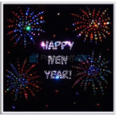 Картина с кристаллами Happy new year
